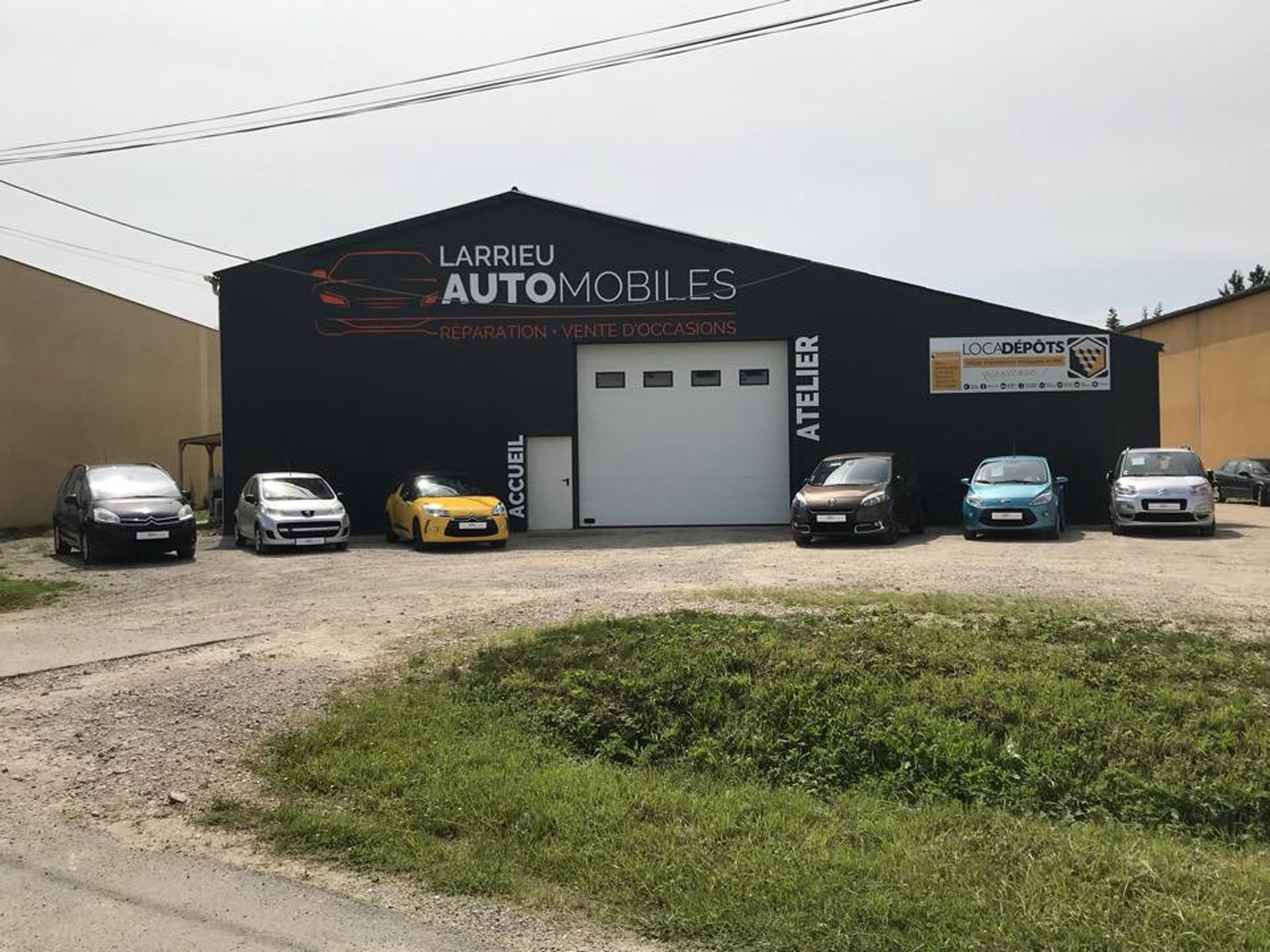 Garage Larrieu automobiles